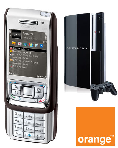 Nokia E65 with Orange
