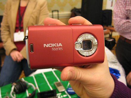 Nokia N95 8GB goes red