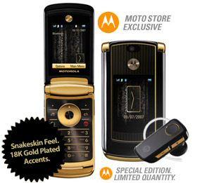 MOTORAZR2 V8 Luxury Edition