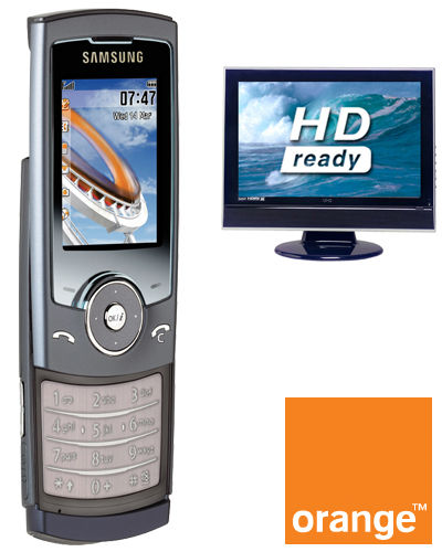 Samsung U600 Blue Mobile And Free 32 Inch Samsung LCD TV