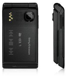 Sony Ericsson W380i in new Black Champagne