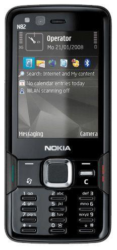 Nokia N82 in black