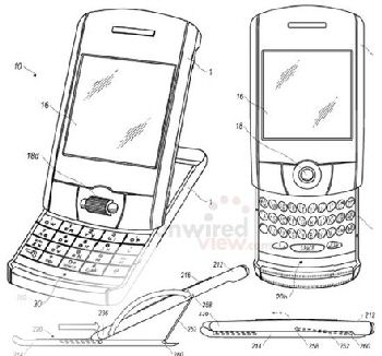 tilt-and-slide BlackBerrys