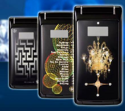 $4,000 Toshiba Cosmic Shiner: luxury 815T handset studded with diamonds