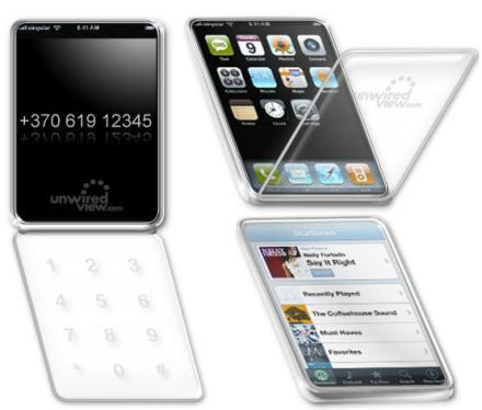 Apple Patent Rumor: Possible Flip iPhone