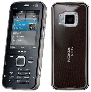 Nokia N78 and N96