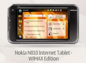 N810 with WiMAX