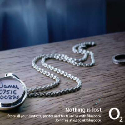 O2 mark launch of its Bluebook service: lose a mobile lose a love