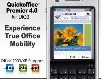 Quickoffice Premier 4.0