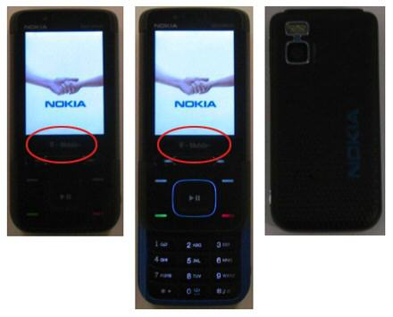 T-Mobile Branded Nokia 5610 spotted