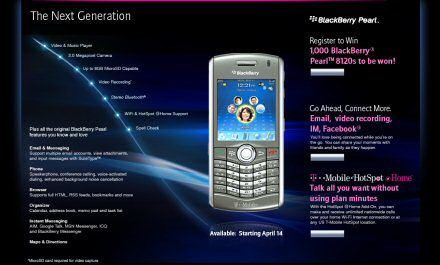 BlackBerry Pearl 8120 coming to T-Mobile.
