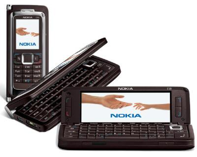 FREE Nokia E90 Communicator brown on O2 75 18 Month