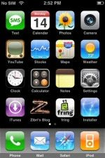 iPhone VoIP client