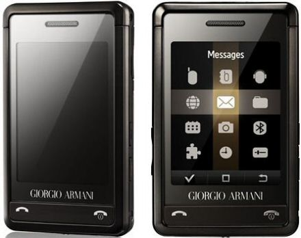 Giorgio Armani Samsung P520 with FREE Sony PSP Slim & Lite on Orange