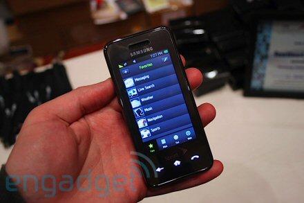 Samsung Instinct hands on