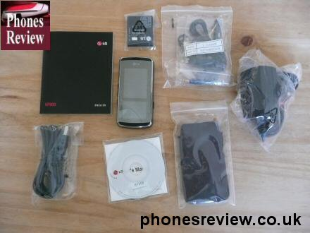 lg kf600 everything out of the box 1