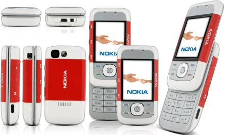 Nokia 5300 XpressMusic with 10 FREE Line Rental on O2