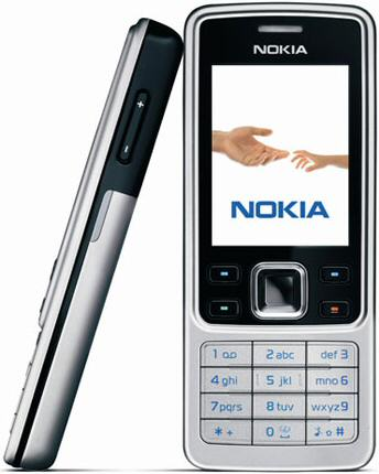 Nokia 6300 with FREE Bluetooth Car Kit from Vodafone