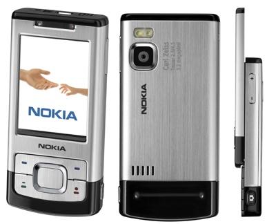Nokia 6500 Slide in Black: 18 Months Half Price on Orange Dolphin Tariff