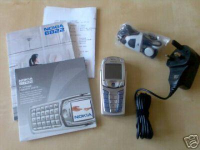 Nokia 6822 Camera Phone