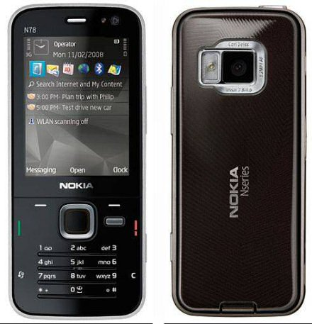 Nokia N78 picture 2
