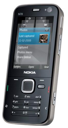 Nokia N78 picture main