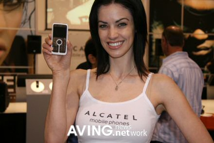 playboy branded mobile phone with sexy model pic 1