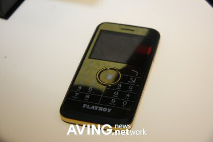 playboy branded mobile phone with sexy model pic 4