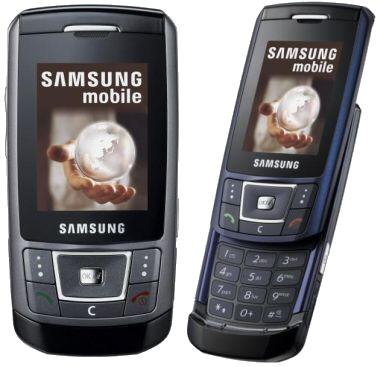 Samsung E250 PAYG Web Exclusive: Only £29.95 on selected networks