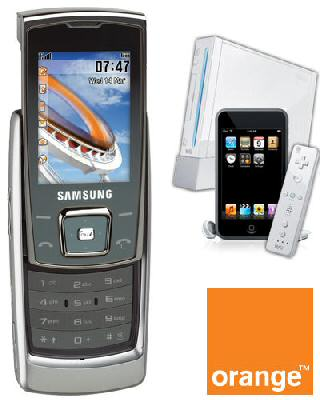 Samsung E840 with Free Nintendo Wii and Apple 8Gb iPod Touch