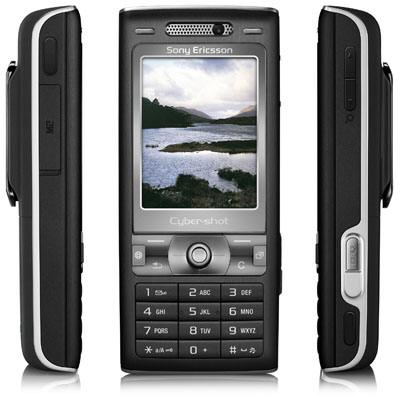 Sony Ericsson K800i: 18 months half price line rental with Orange