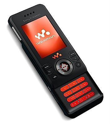 Sony Ericsson W580i black with FREE Nintendo Wii on O2