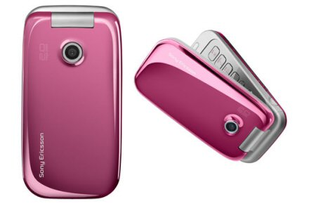 Sony Ericsson Z610i Pink