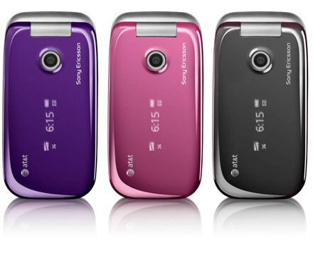 Sony Ericsson Z750a coming to AT&T in early April