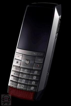 Tag Heuer Meridiist €3,400 Mobile Phone