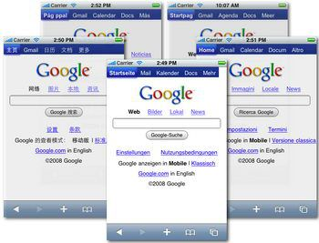 Google for Apple iPhone