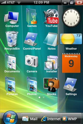 iphone-vista-theme