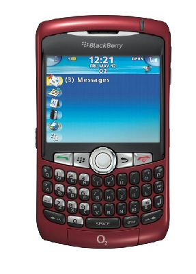 BlackBerry Curve red
