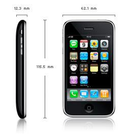 Apple 3G iPhone dimensions