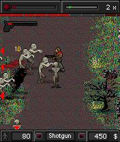 Death Zone attack on a zombie world pic 1