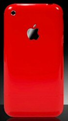 iphone christmas red 3g