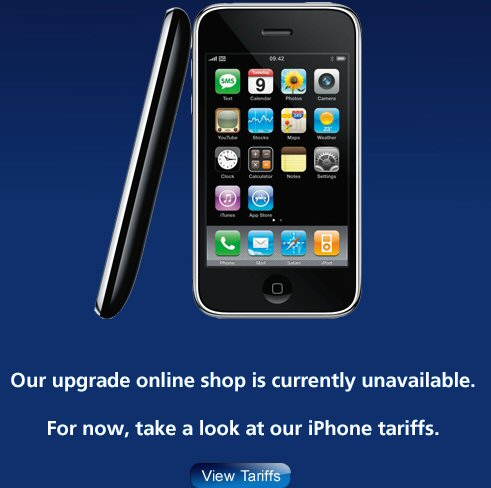 Our upgrade online shop is currently unavailable