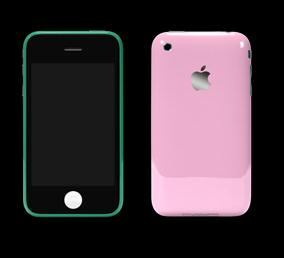 Customised colour change your Apple iPhone 3G with Colorware