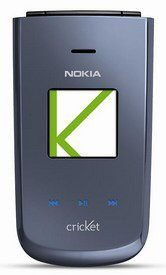 Nokia 3606 flip phone available from Cricket