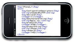 iPhone OS 3.0 beta: New Model References Surface