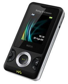 Sony Ericsson W205 Walkman handset launched