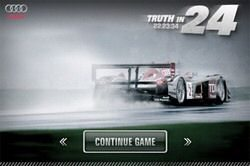Audi Truth in 24 free app for the Apple iPhone now available