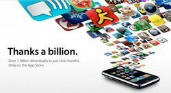 1 Billion Apps Downloaded Milestone Attained by Apple App Store