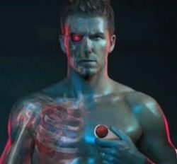 Videos: Motorola Aura promoted by Beckham Terminator style