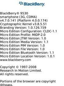 BlackBerry Storm 9530 now gets OS 4.7.0.141 Firmware